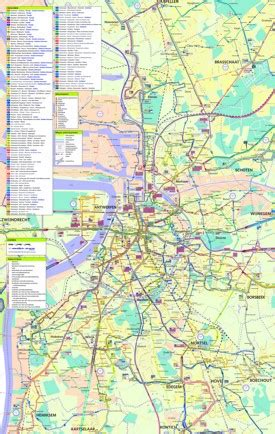 antwerp world map antwerp transport map