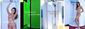 doccia autoabbronzante abbronzatura spray produzione doccia abbronzatura spray