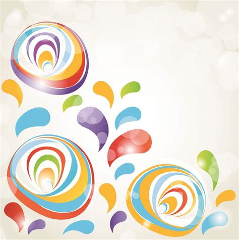 colorful wallpaper eps colorful vector background free vector 4vector