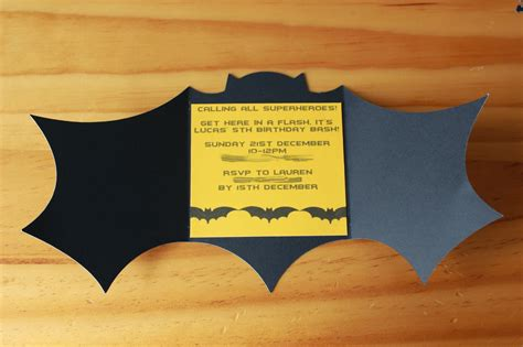 Batman Birthday Card Template by Batman Birthday Invitations Templates Ideas Batman And