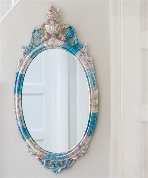 Decoupage Mirror - 12 diy updates that anyone can do ideal home