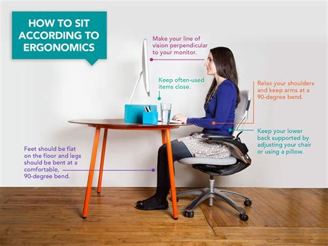 ergonomic sitting at desk here s how you should be sitting at your desk according