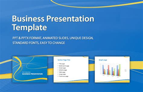 Business Presentation Template By Id512 Graphicriver Company Presentation Template Ppt