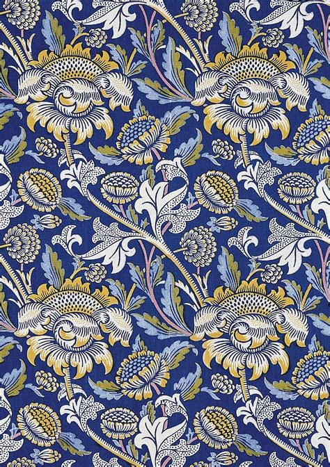pattern textile artist sunflowers design tapestry textile by william morris