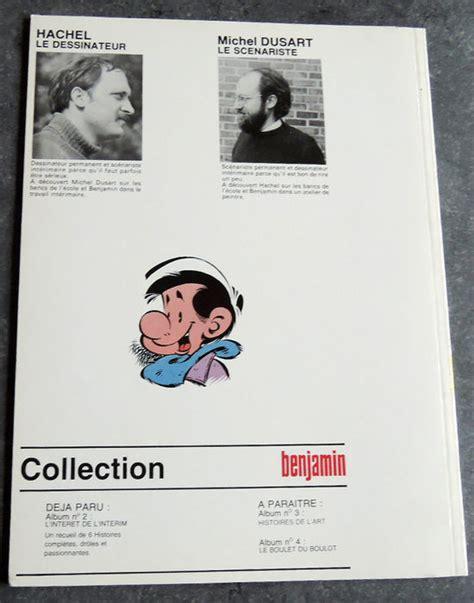 Sc Sculture Picollo Vol 7 benjamin volume 1 tranches de vie tranches de l commission drawing sc 1st