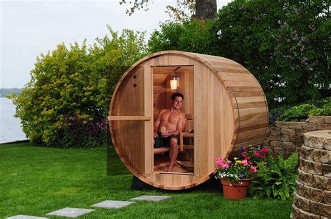 outdoor canopy barrel sauna kit 4 person sauna kits on