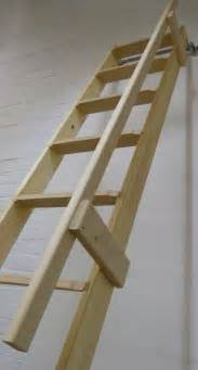 Wooden Loft Ladders With Handrail Timber Handrail For Dolle Straight Flight Ladder Loft Centre