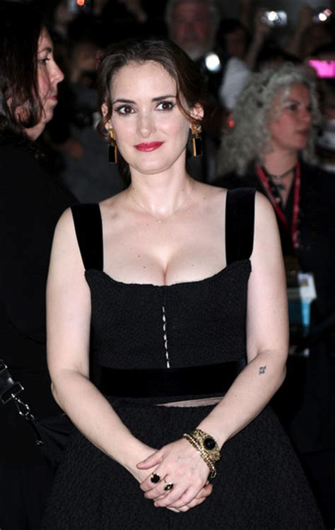 Winona Is Back And So Is Cleavage by Winona Photos Photos Quot Black Swan Quot Premiere 2010