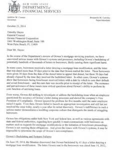 Mortgage Letter 2014 21 Could Backdating Foreclosure Letters Kill Ocwen Financial Nyse Ocn 24 7 Wall St