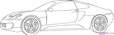 ferrari sketch how to draw a ferrari step by step cars draw cars