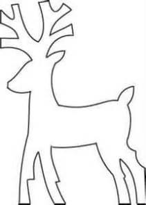 reindeer template cut out reindeer template reindeer