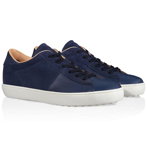s sneakers tod s sneakers in suede in blue for lyst