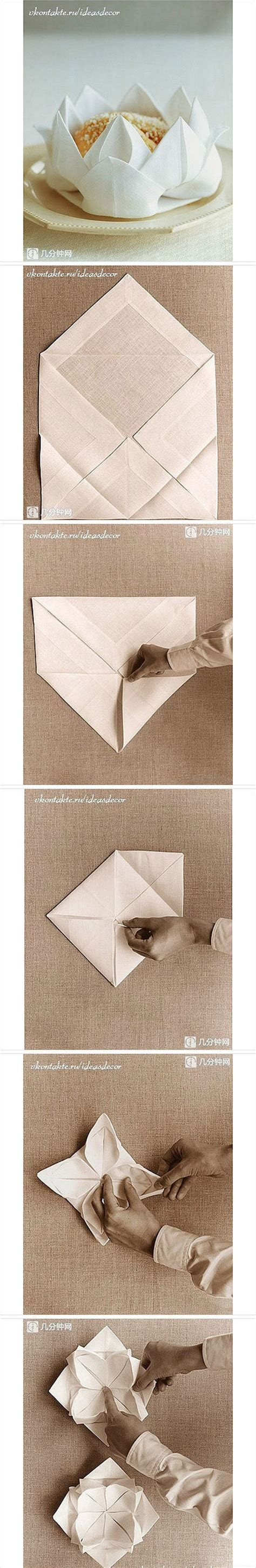 Cool Paper Napkin Folds - 25 best ideas about napkin origami on folding