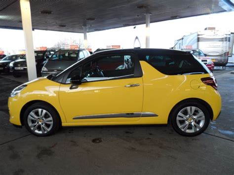 used citroen ds3 for sale used yellow citroen ds3 for sale bedfordshire