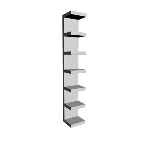 ikea lack lack wall shelf white design and decorate your room in 3d