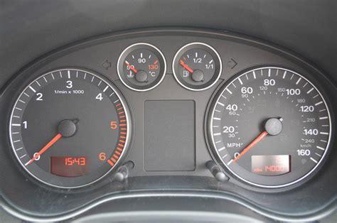 audi a3 dashboard warning lights audi a3 mk2 8p dash lights
