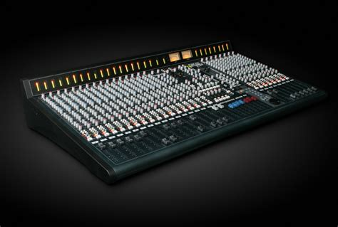 recording mixing console allen heath launches studio recording mixer gearslutz