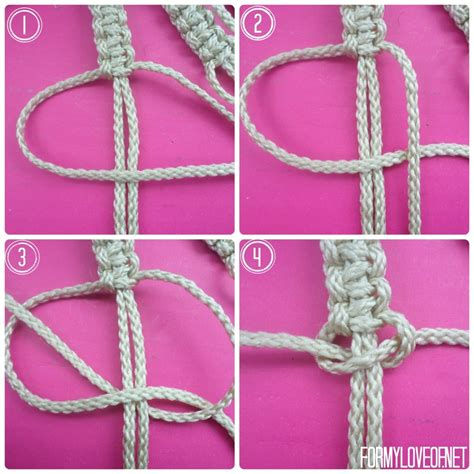 Macrame Tutorials - diy macrame wall hanging tutorial formyloveof net