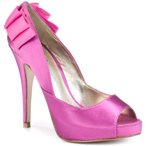 pink bridesmaid shoes cherry