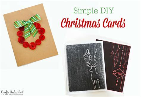 card diy ideas diy card ideas simple crafts unleashed