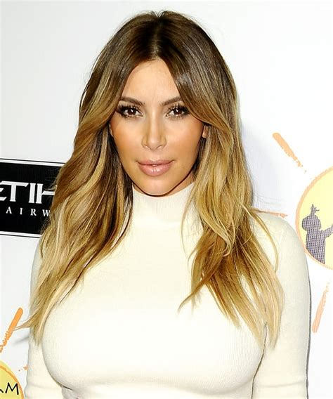 best hair color for a hispanic with roots honey blonde highlights kim kardashian s best hairstyles