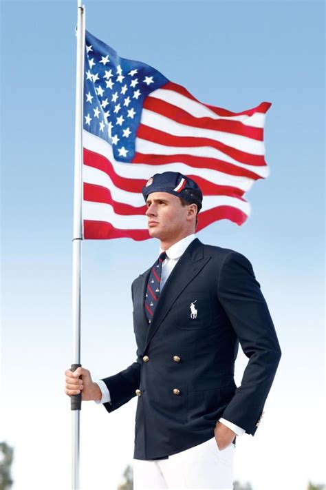 Ralph Olympic Collection For Usa Olympics Team by Ralph Olympic Uniforms Mix Flight Attendant With