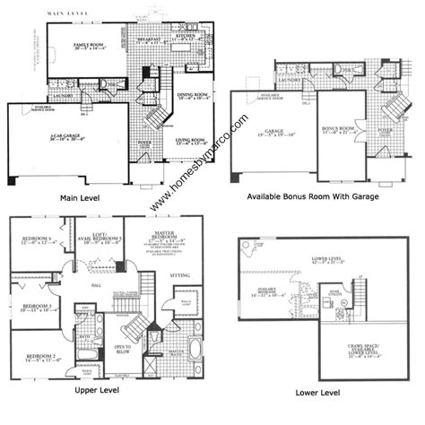canterbury floor plan canterbury model in the sterling ridge subdivision in cary