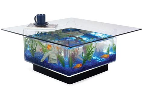Coffee Tables Fish Tank Fish Tank Coffee Table The Aquarium Coffee Table Waycoolgadgets