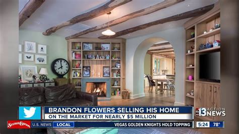 the killers brandon flowers selling las vegas home
