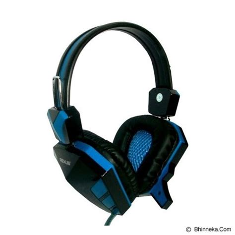Headset Headphone Gaming Rexus F22 Murah jual gaming headset rexus gaming headset f22 blue