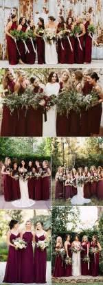 wedding colors for fall best 25 burgundy wedding ideas on burgundy