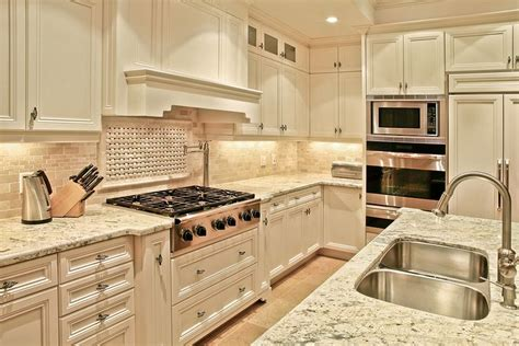 Country Kitchen Countertops by La Palma Kitchen Granite Countertops Country
