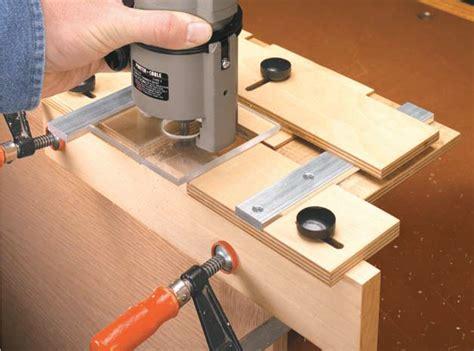 hinge mortising jig woodsmith shop tools jigs
