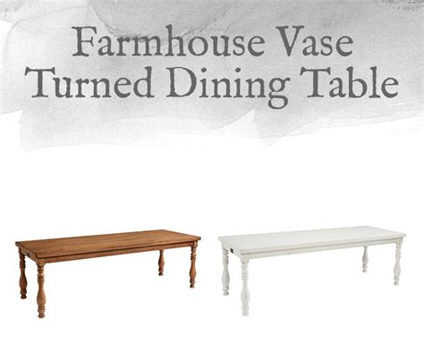 magnolia vase turned dining table magnolia home preview farmhouse collection design by gahs