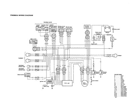 Wiring Diagram For 2000 Yamaha Big Bear 400 Wiring