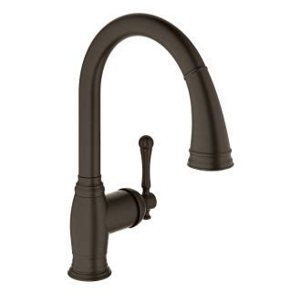 famous bridge kitchen faucet with pull down spray best faucet com 33870zb2 in oil rubbed bronze by grohe