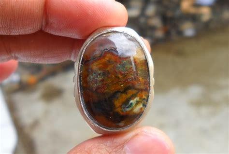 Batu Akik Gambar Syekh pesona batu antik grt03 sold batu garut pancawarna