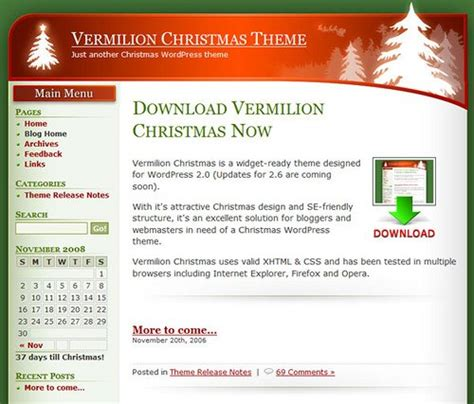 wordpress themes free holiday christmas wallpapers resources themes free tools and tips