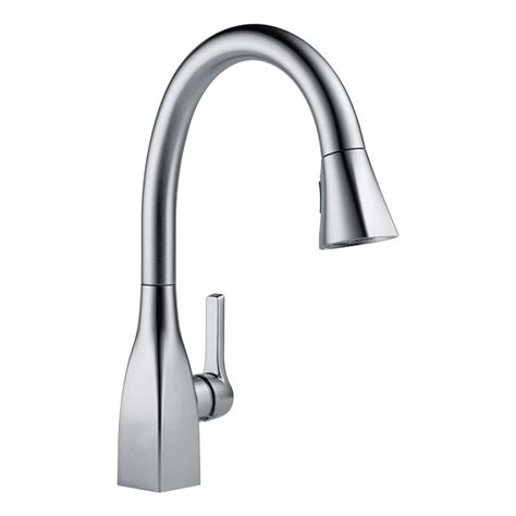Delta Kitchen Faucets Warranty by Delta 9183 Ar Dst Arctic Stainless Mateo Pull Down Kitchen