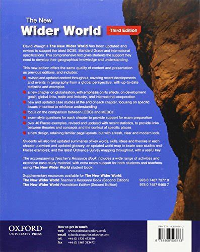 1408505118 the new wider world libro the new wider world di david waugh