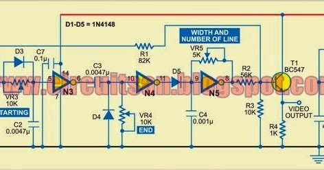 video pattern generator circuit super circuit diagram tv pattern generator circuit diagram