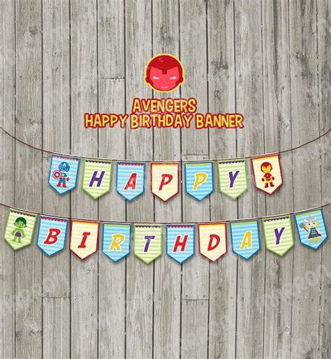 Bunting Flag Happy Birthday Banner Hbd Karakter Superman 46 best images about banner ideas on