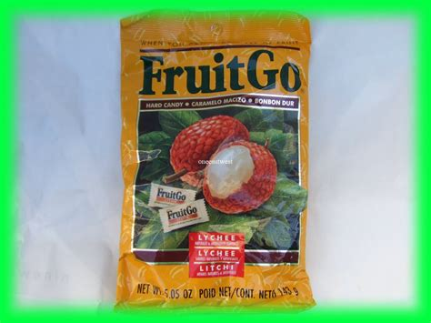 lychee fruit candy fruitgo asian lychee fruit hard candy usa seller
