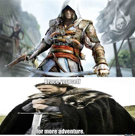 Assassins Creed 4 Memes - assassin s creed black flag by ba bra meme center