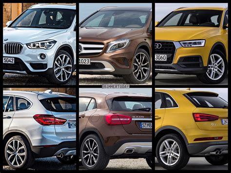Vergleich Bmw 2er X1 by Bild Vergleich Bmw X1 F48 Vs Audi Q3 Vs Mercedes Gla