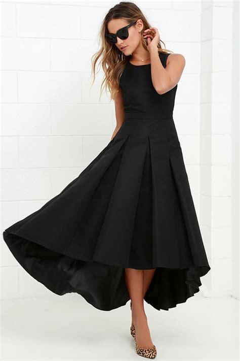Black Lovely Dress 18717 lovely black dress high low dress formal dress 82 00