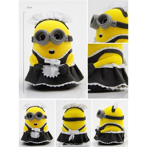 Modelling Clay Minion Phil cheap diy colorful modeling clay the minions figure 9987 3 sale with free delivery