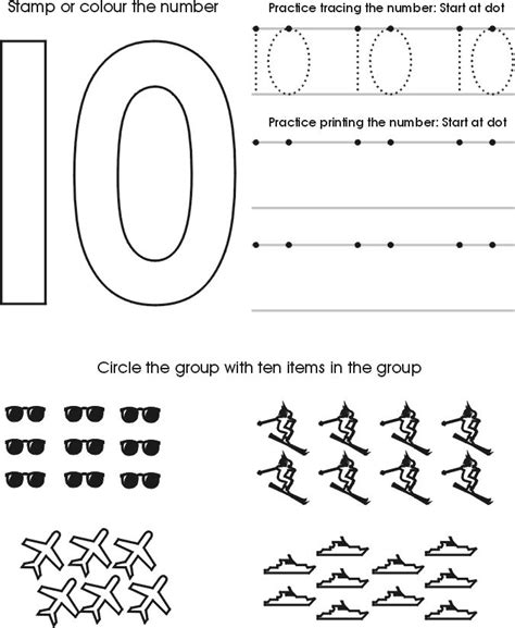 Preschool Number Worksheets by 1000 Images About Preschool Math On Alphabet