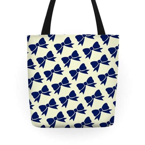 tote bag pattern with bow blue bow pattern tote bags grocery bags and canvas bags