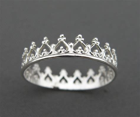 silver ring you are my princess